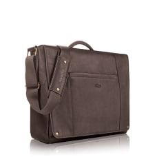 Solo Hudson Leather Messenger Bag For