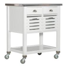 Linon Sherwood Kitchen Cart 36 14