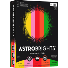 Wausau Astrobrights Bright Color Paper Letter