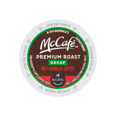 McCafe Premium Roast Decaf Coffee Single
