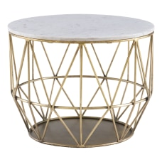 Powell Ancken Metal Wire Side Table