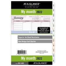 AT A GLANCE Nature Monthly Planner
