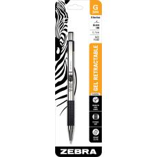 Zebra G 301 Gel Ink Retractable