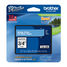 Brother TZe 545 Label Tape Blue