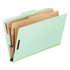 Pendaflex Pressboard Classification Folders 8 12