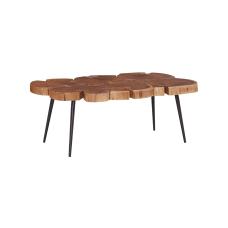 Powell Lashley Coffee Table Large BrownBlack