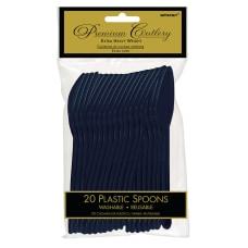 Amscan Premium Plastic Spoons 6 34