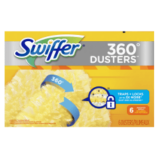 Swiffer 360 Duster Refills Yellow 6