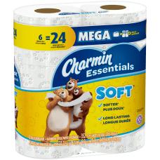 Charmin Essentials Soft 2 Ply Mega