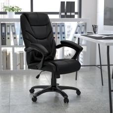 Flash Furniture Overstuffed Ergonomic Bonded LeatherSoft