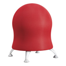Safco Zenergy Exercise Ball Stool Crimson