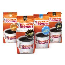 Dunkin Donuts Ground Coffee Variety Box