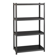 Lorell Steel Shelving Unit 4 Shelves