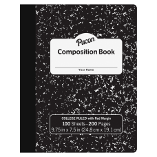 Pacon Composition Book 9 1316 x