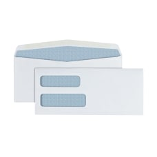 Office Depot Brand Double Window Envelopes