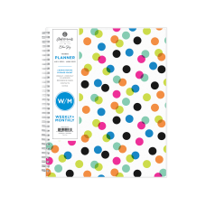 Blue Sky Ampersand Dots Academic WeeklyMonthly