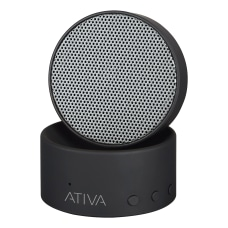 Ativa Wireless Bluetooth Swivel Speaker Black
