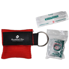 Custom Disposable CPR Mask With Pouch