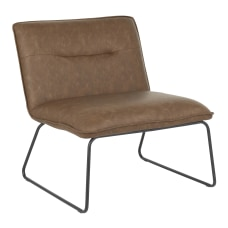 LumiSource Casper Accent Chair BlackEspresso