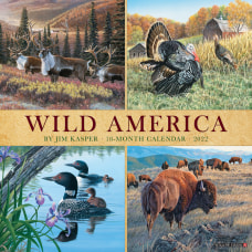 Willow Creek Press Animals Monthly Wall