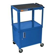 H Wilson Metal Utility Cart With
