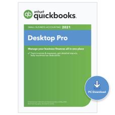 QuickBooks Desktop Pro 2021 3 Users