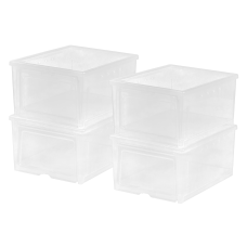 IRIS Easy Access Shoe Boxes For