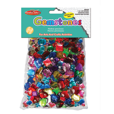 Charles Leonard Acrylic Gemstones 1 Lb