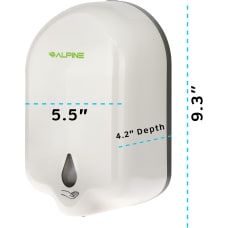 Alpine Automatic Gel Hand Sanitizer Dispenser