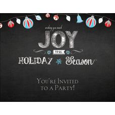 Custom Holiday Invitations 5 12 x