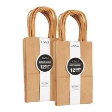 Juvale Brown Kraft Bag Birthday Party