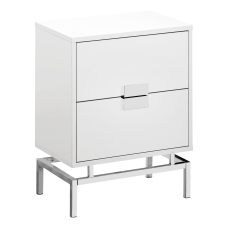 Monarch Specialties Retro 2 Drawer Accent