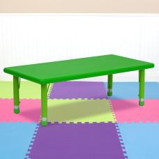 Flash Furniture Height Adjustable Activity Table
