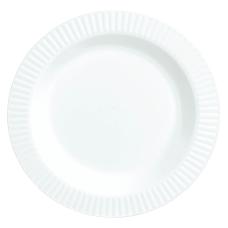 Amscan Plastic Plates 7 12 White