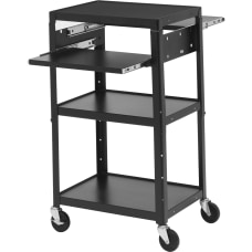 Bretford Basics Adjustable Multimedia Cart A2642DNSE