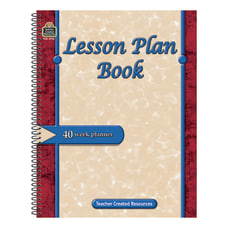 Teacher Created Resources Lesson Plan Books