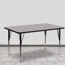 Flash Furniture Rectangular Activity Table 24