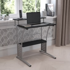 Flash Furniture Clifton Computer Desk Black