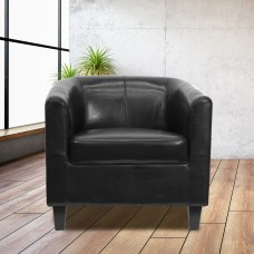 Flash Furniture GuestReception Chair Black