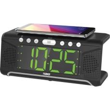 Naxa NRC 190 Clock Radio Stereo