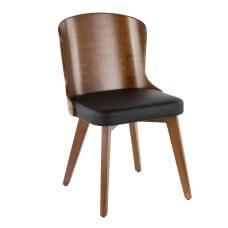 LumiSource Bocello Chair WalnutBlack