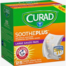 Curad SoothePlus Medium Non stick Pads