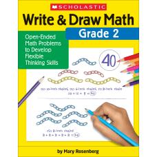 Scholastic Write Draw Math Grade 2