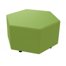 Marco Hexagon Seating Ottoman Sprite