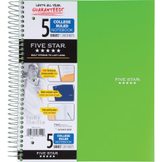 Mead Wirebound College ruled Notebook 200