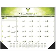 Multicolor Desk Pad Calendar 17 x