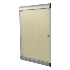Ghent Silhouette 1 Door Enclosed Bulletin