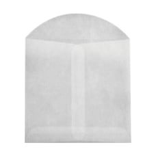 LUX Open End Envelopes With Flap