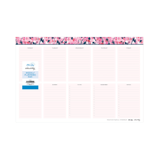 Blue Sky Noteworthy Weekly Planning Pad