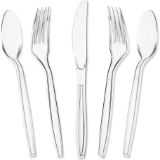 Juvale Plastic Knives And Silverware Set